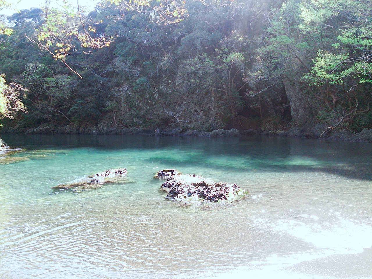 佐渡,虫谷の入り江